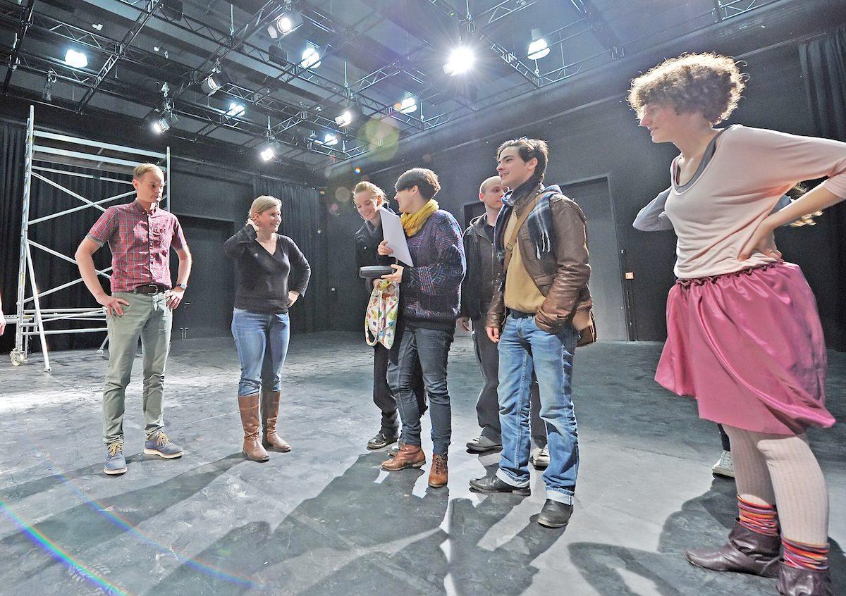 Institut für Medien und Theater: Neue Bühne,Foto Andreas Hartmann